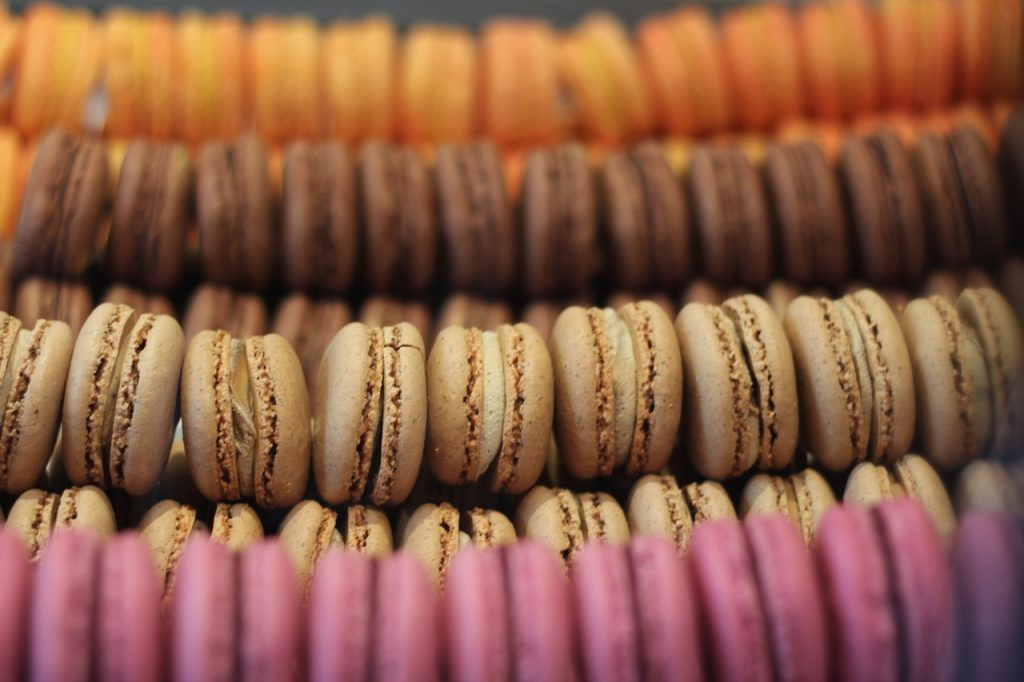 Macrons at La Parisienne French Bakery